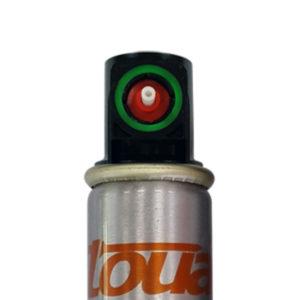 Газовый баллон 165А Toua с зелёным клапаном