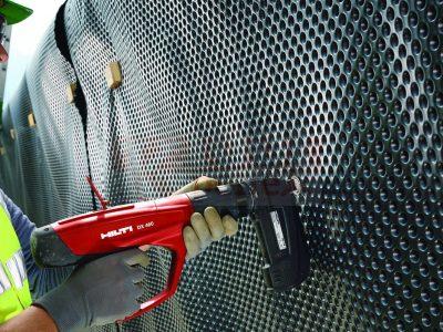 монтаж тонких изоляционных материалов